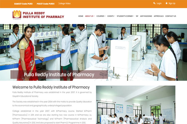 Pulla Reddy Institute of Pharmacy