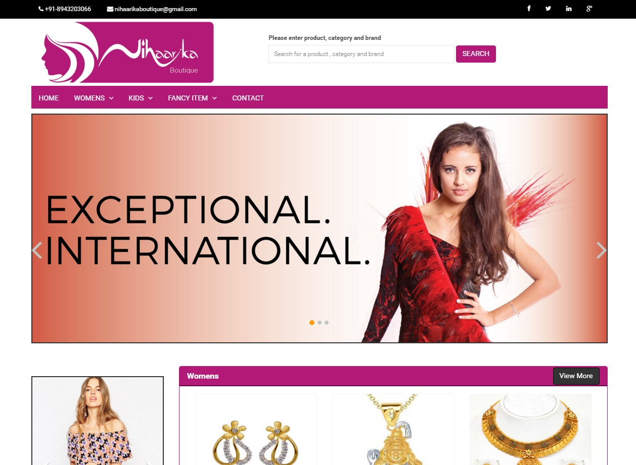 Niharika Boutique